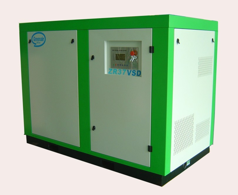100% Oil free screw air compressor ZR series VSD type