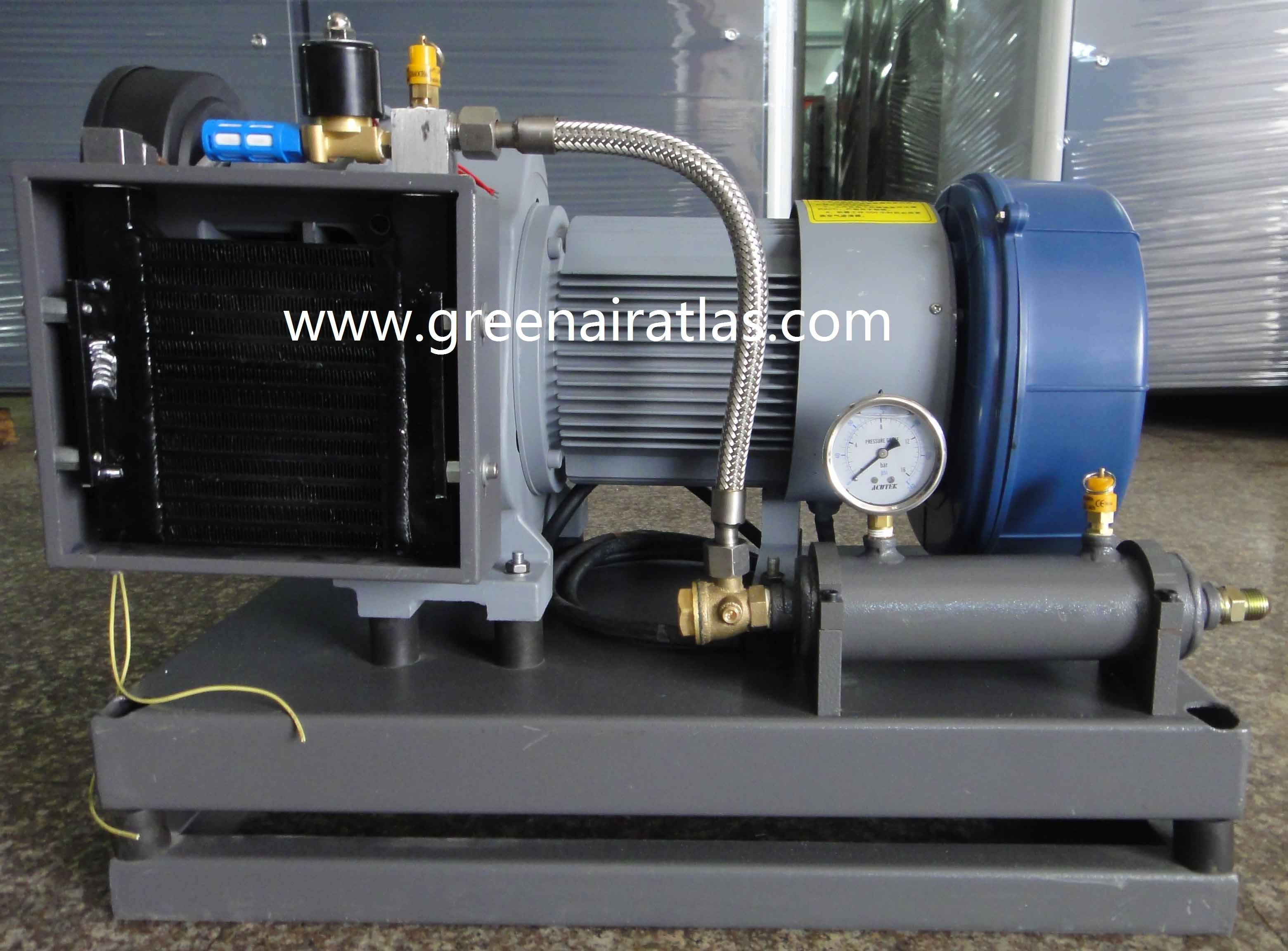 Automotive Oil Free Scroll Air Compressor SC Series
