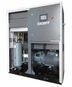 Energy Label Class A High-end GA Series air dryer mounted in GAFF series