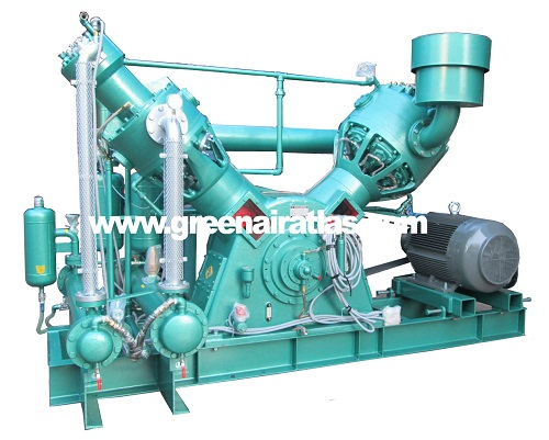 Oil free high pressure water cooling air compressor